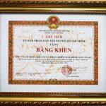 An Gia Investment được UBND TP.HCM trao tặng bằng khen