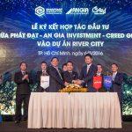 Lễ Ký Kết Hợp Tác Đầu Tư Giữa Phát Đạt – An Gia Investment – Creed Group vào dự án River City