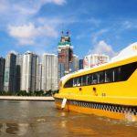Cận cảnh tuyến tàu bus đường sông đầu tiên ở Sài Gòn