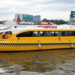 Lần đầu trải nghiệm tuyến Bus đường sông TPHCM