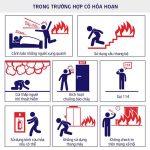 Cách thoát khỏi chung cư căn hộ khi đám cháy có nhiều khói
